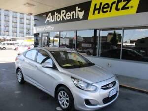 Automatic 2014 Hyundai Accent - Silver Sedan Hobart CBD Hobart City Preview