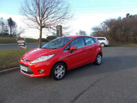 FORD FIESTA 1.4 TDCI DIESEL ZETEC NEW SHAPE 2010 ONLY £30 ROAD TAX BARGAIN £2650 *LOOK* PX/DELIVERY