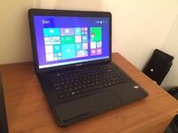 "compaq cq58, windows 8, 15.6"" hd, 500gb, hdmi, webcam& mic in excellent working order."