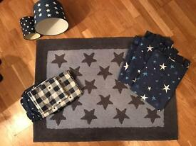 Laura Ashley/ next star child's room accessories