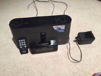Sony Radio/Alarm/iPod/iPhone Speakers (Sold)