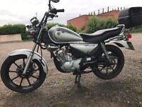 2009 yamaha ybr 125 custom good clean bike with full mot and low miles £1199 at kickstart