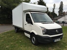 2014 (64) Volkswagen VW Crafter LWB Luton Tail Lift 3.5 Tonne 12k Miles Full VW Service **NO VAT**