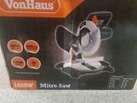 VonHaus 1400w Mitre Saw
