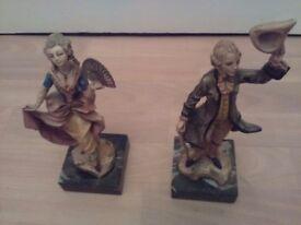 Figurines vintage italy