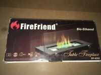 Boxed Firefriend Table Top Fire