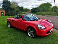TOYOTA MR2 ROADSTER, Exceptional example with excellent service record (red) 2001
