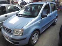 Fiat Panda Dynamic 5dr (blue) 2008