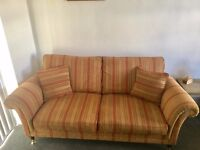 Parker Knoll 3 seater and 2 seater Matching Settees, Smoke and Pet Free Home, quality and comfort