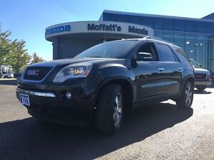 2011 GMC Acadia SLT w/ LEATHER, SUNROOF, HEATED SEATS, ALLOY WHE