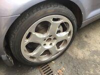 Lamborghini replica alloy wheels set 4