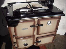 rayburn 355 solid fuel aga cooker