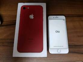 iPhone 7 256GB Red Immaculate condition