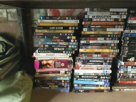 Whole bunch of dvds