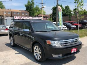 2011 Ford Flex Limited AWD Leather Roof Accident Free