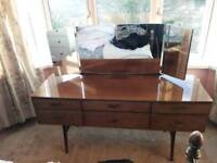 1950s 60s dressing table