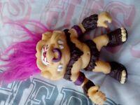1992 Hasbro Battle TROLLS. hero/cyclops/punk/pirate