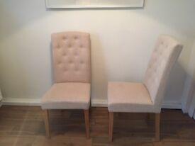 4 schreiber dining chairs