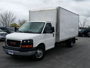 2014 GMC Savana 3500 16' CUBE/ BOX TRUCK-C/W RAMP