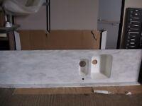 Corian 1 1/2 bowl worktop