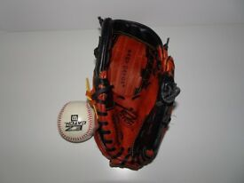 Wilson Youth Baseball Glove Easy Catch Web RHT T-Ball Game USA America MLB Sports Games Hand Quality