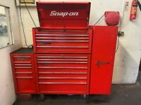 Snap On Tool Box 40 Inch Top And Bottom 2 Side Cabs