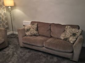 3 and 2 seater Harvey's Sofa Set