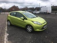 2009 Ford Fiesta 1.25 style low milage