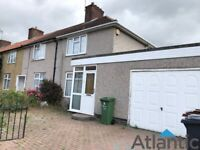 Large 2 Bedroom End of Terrace House, In Dagenham, RM8, Very Large House with Garage