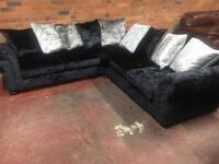 Lawrence Llewelyn-Bowen Designer Corner Sofa - Ex Display - RRP £1500