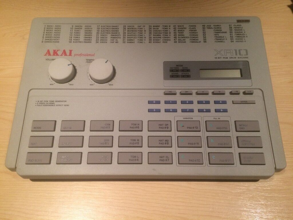 Akai XR 10 xr10 Rare Vintage Drum Machine Roland collectors 808 80s 90s |  in Ealing, London | Gumtree