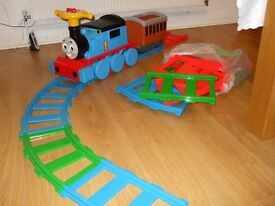 Thomas and friends with 7m rail track