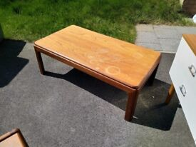 G-Plan coffee table from approx 1960's (mid century modern)