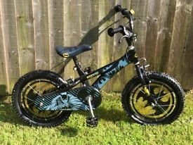 "Boys 16"" Batman bike"