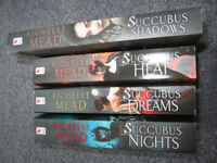 Succubus books - set of 4