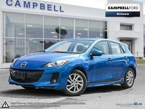 2012 Mazda MAZDA3 GS-SKY (M6) LEATHER-MOONROOF-LOW KMS