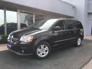 2016 Dodge Grand Caravan Crew Plus LEATHER...NAV