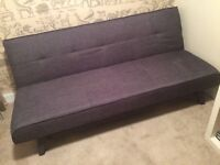 Yoko Grey sofa bed by Made as new condition