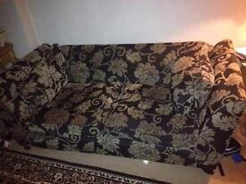 Three AND two seater DFS Linda Barker