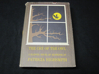The Cry of the Owl by Patricia Highsmith HC Hardcover First 1st Like NEW