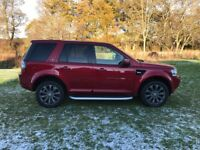Land Rover Freelander 2 SD4 HSE LUXURY (red) 2013-10-07