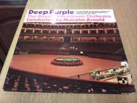 DEEP PURPLE AT THE ROYAL ALBERT HALL A/1 B/1 THE GRAMOPHONE CO FIRST PRESSING
