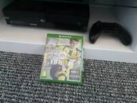 Xbox one 500gb and fifa 17