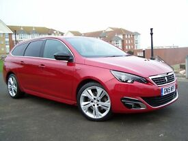 2015 (15) Peugeot 308SW GT Line Blue HDi 150