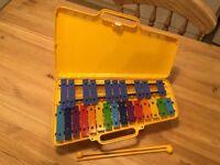 Angel Glockenspiel, Yellow Case