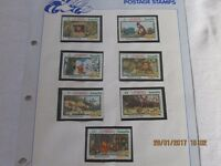 Disney Stamp Collection