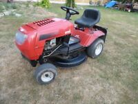 MTD Spider RD Ride on Lawn Mower in working order