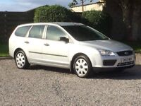 FORD FOCUS 1.6 ESTATE 2005 LOW MILES 44000 FSH RECENT CAMBELT 12 MONTHS MOT NEW TYRES TOWBAR PX
