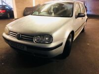Volkswagen Golf E with long MOT