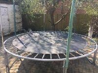 13ft trampoline !!!